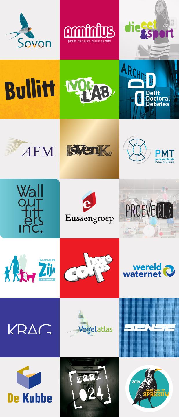21 logo's door Thoas.nl